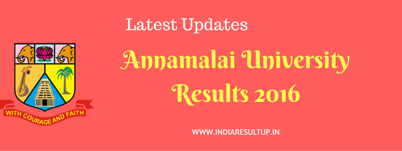 Annamalai University Results