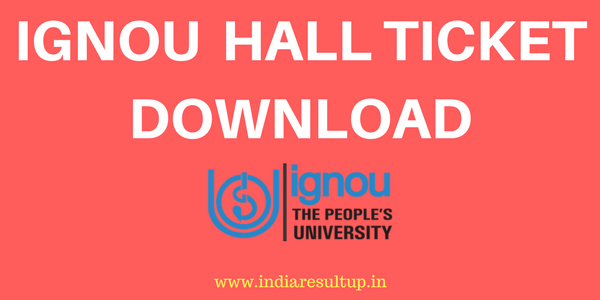 IGNOU Hall Ticket Download