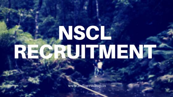 NSCL Recruitment